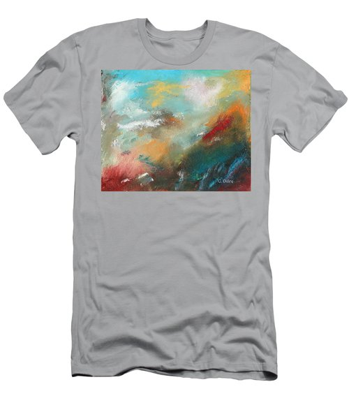 Abstract No 1 Men's T-Shirt (Athletic Fit)