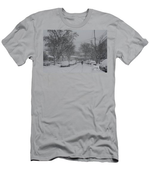 Men's T-Shirt (Slim Fit) featuring the photograph After The Storm by Dora Sofia Caputo Photographic Art and Design