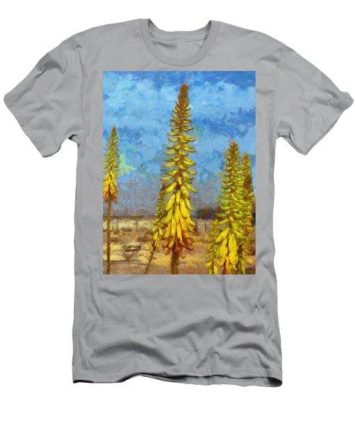 Aloe Vera Flowers Men's T-Shirt (Athletic Fit)