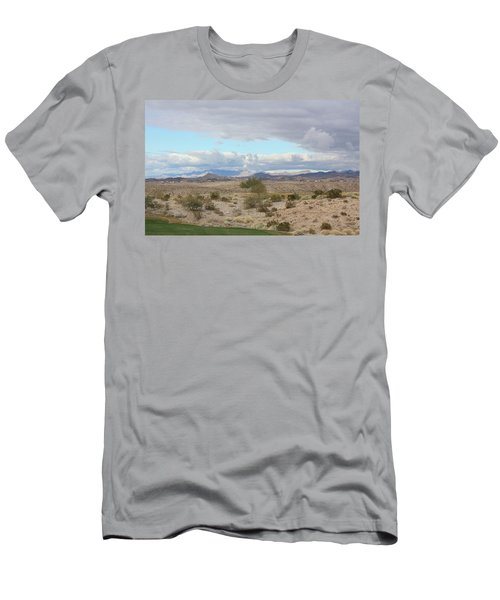 Arizona Desert View Men's T-Shirt (Athletic Fit)