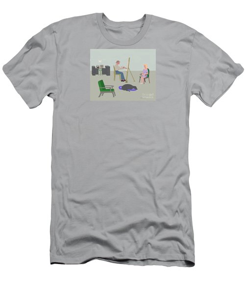 Artists Studio Men's T-Shirt (Athletic Fit)