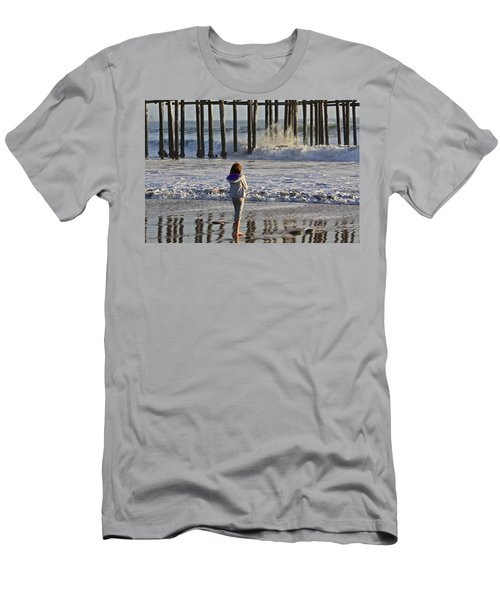 At The Pier Men's T-Shirt (Athletic Fit)