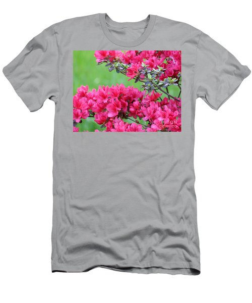 Men's T-Shirt (Slim Fit) featuring the photograph Azalea by Andrea Anderegg