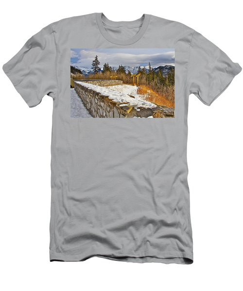 Banff Scene Men's T-Shirt (Athletic Fit)