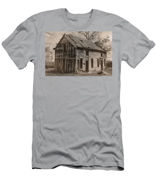 Battered And Leaning Men's T-Shirt (Slim Fit) by Betty Northcutt