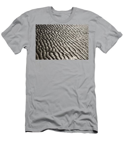 Men's T-Shirt (Slim Fit) featuring the photograph Beach Sands by Fotosas Photography