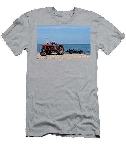 Men's T-Shirt (Slim Fit) featuring the photograph Boat Trailer by Barbara McMahon