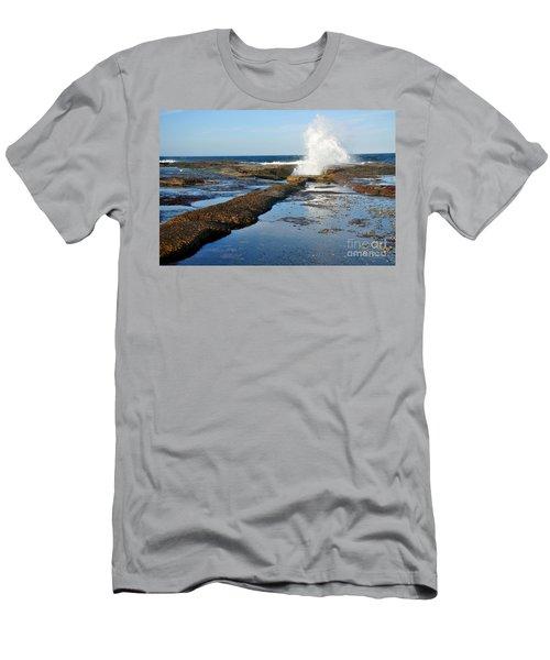 Breaking Surf Men's T-Shirt (Athletic Fit)