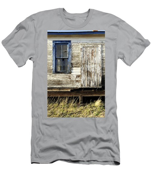 Men's T-Shirt (Slim Fit) featuring the photograph Broken Window by Fran Riley