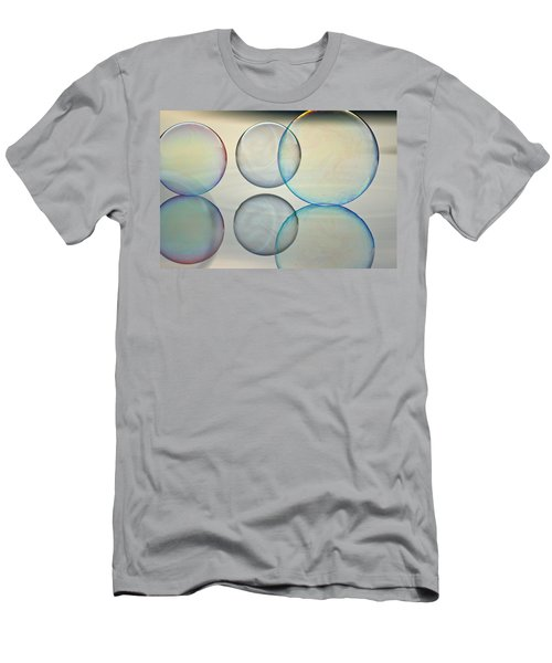 Bubbles On The Water Men's T-Shirt (Athletic Fit)