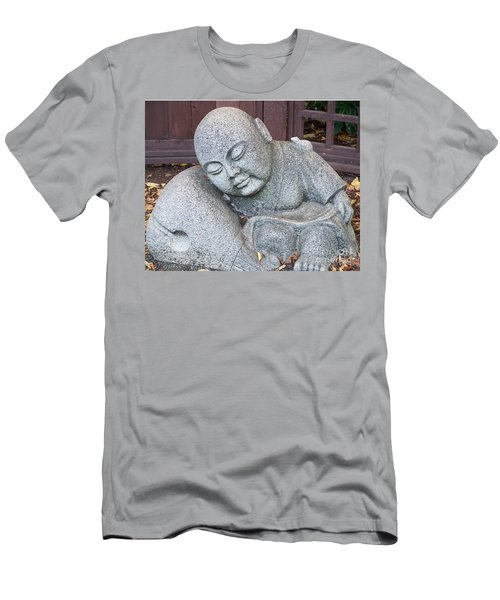 Men's T-Shirt (Slim Fit) featuring the photograph Buddha by Chalet Roome-Rigdon