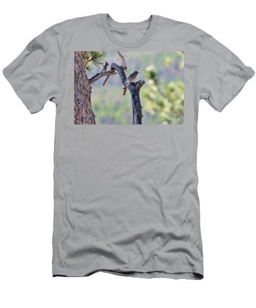 Building Her Nest Men's T-Shirt (Athletic Fit)