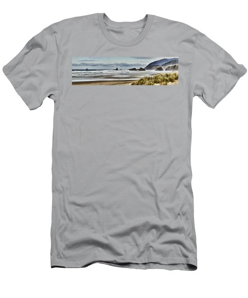 By The Sea - Seaside Oregon State  Men's T-Shirt (Athletic Fit)