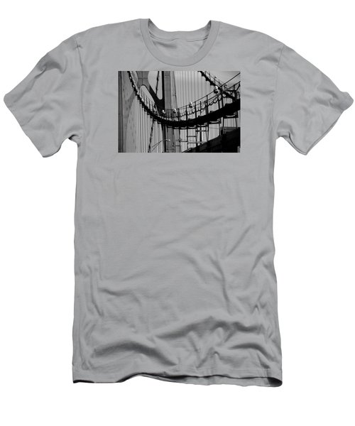 Cables Men's T-Shirt (Slim Fit) by John Schneider