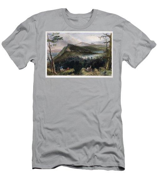 Catskill Hotel, 1838 Men's T-Shirt (Athletic Fit)