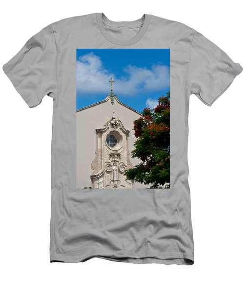 Men's T-Shirt (Slim Fit) featuring the photograph Church Of The Little Flower by Ed Gleichman