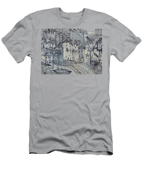 City Doodle Men's T-Shirt (Athletic Fit)