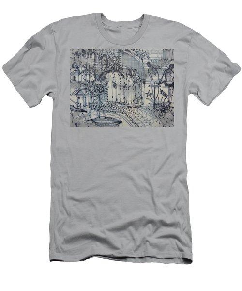 City Doodle Men's T-Shirt (Athletic Fit)