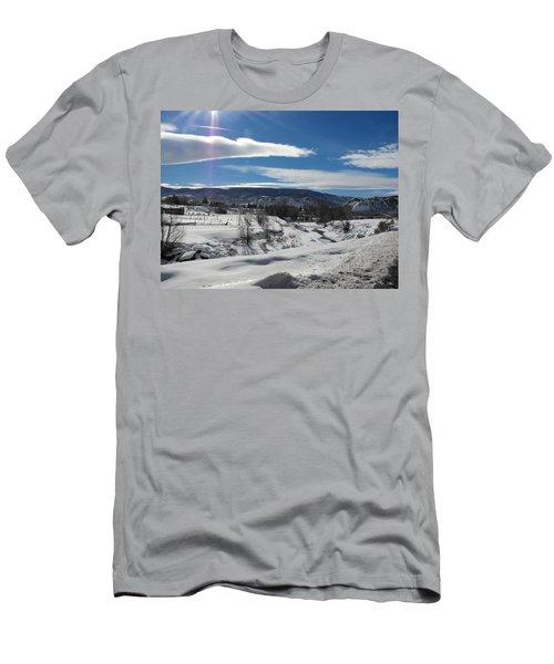Cold Sun Men's T-Shirt (Athletic Fit)