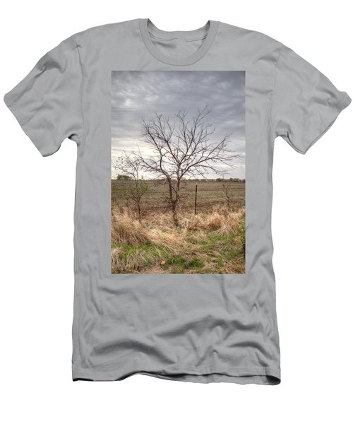 Color - Country Tree Men's T-Shirt (Athletic Fit)