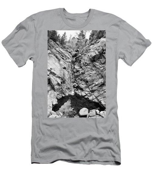Colorado Rocky Mountain Black Gold Men's T-Shirt (Athletic Fit)