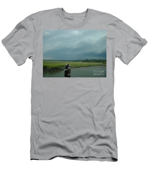 Men's T-Shirt (Slim Fit) featuring the photograph Coming On  by Mark Robbins