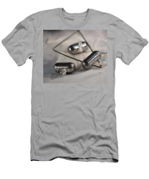 Crab Lines Men's T-Shirt (Slim Fit) by Wilma  Birdwell