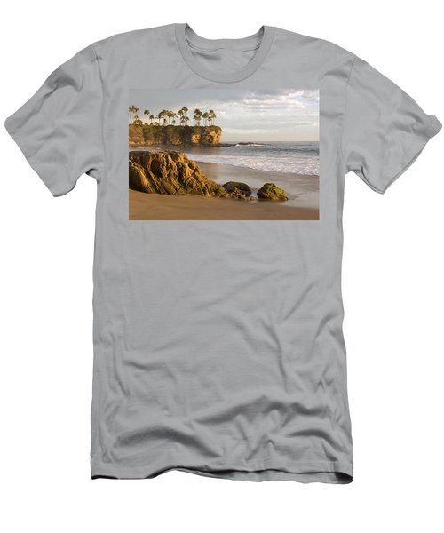 Crescent Bay Beach Laguna Men's T-Shirt (Athletic Fit)