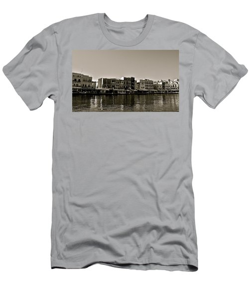 Men's T-Shirt (Slim Fit) featuring the photograph Crete Reflected by Eric Tressler