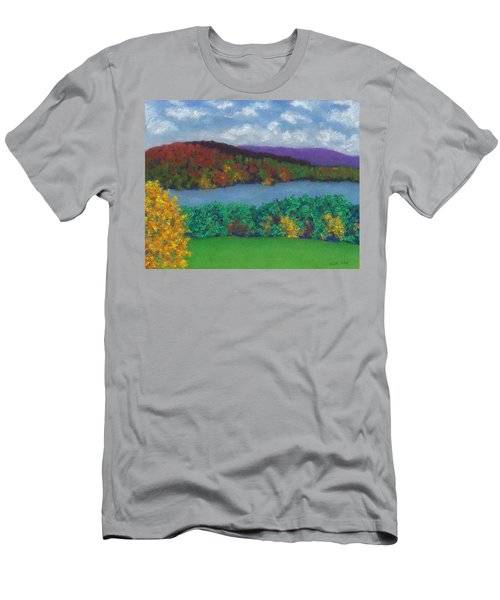Crisp Kripalu Morning Men's T-Shirt (Athletic Fit)