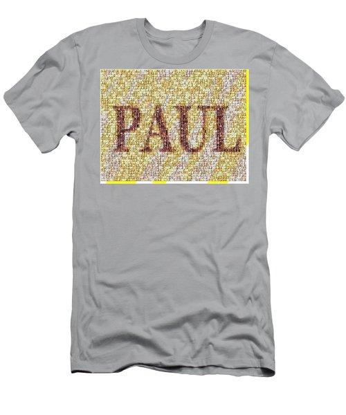 Custom Paul Mosaic Taylor Swift Men's T-Shirt (Slim Fit)