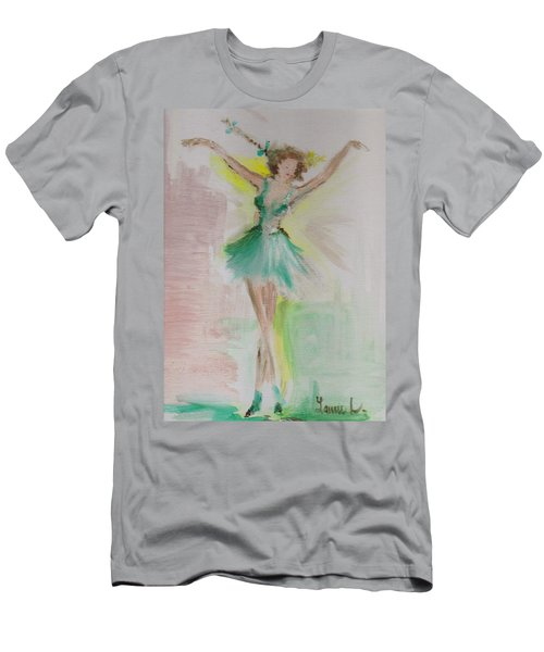 Men's T-Shirt (Athletic Fit) featuring the painting Dance by Laurie Lundquist