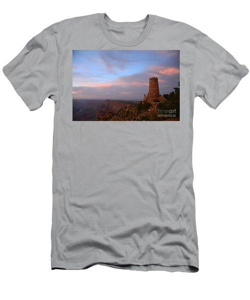 Desert View Watchtower Men's T-Shirt (Athletic Fit)