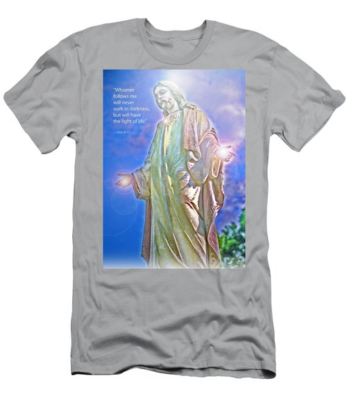 Easter Miracle Men's T-Shirt (Slim Fit) by Marie Hicks