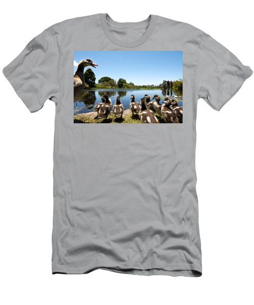 Egyptian Geese Men's T-Shirt (Athletic Fit)