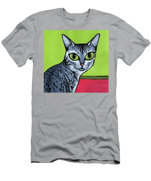 Egyptian Mau Men's T-Shirt (Athletic Fit)