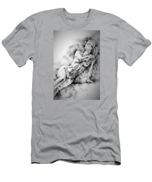 Erotic Sketchbook Page 2 Men's T-Shirt (Athletic Fit)