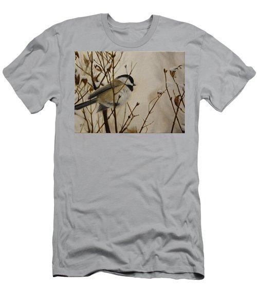 Faithful Winter Friend Men's T-Shirt (Athletic Fit)