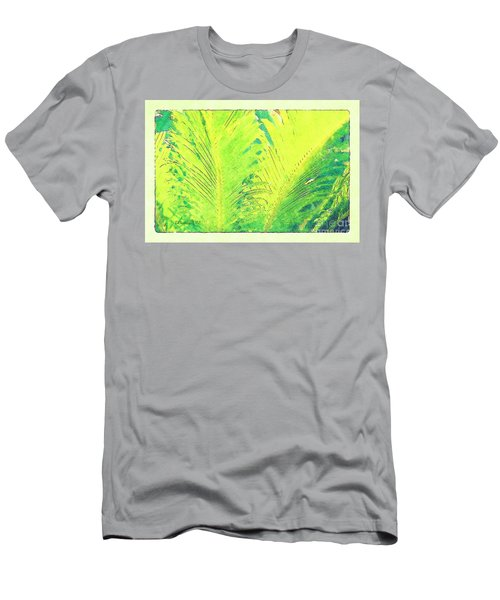 Men's T-Shirt (Athletic Fit) featuring the photograph Ferns by Donna Bentley