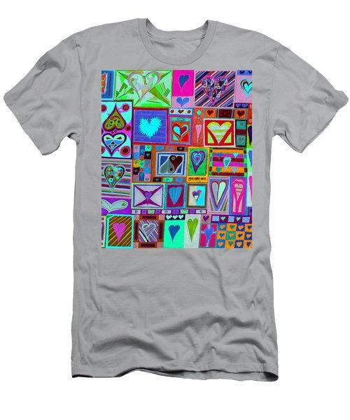 find U'r love found v1 Men's T-Shirt (Athletic Fit)