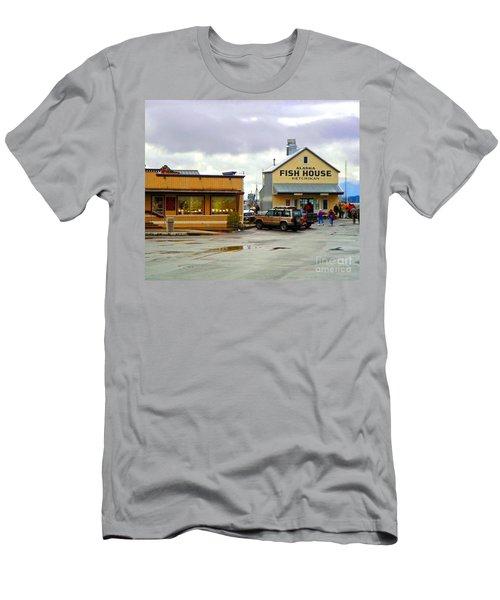 Fish House Men's T-Shirt (Athletic Fit)