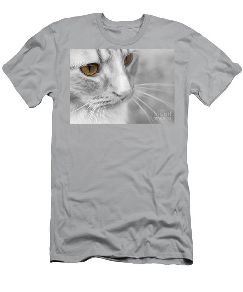 Flitwick The Cat Men's T-Shirt (Slim Fit) by Jeannette Hunt