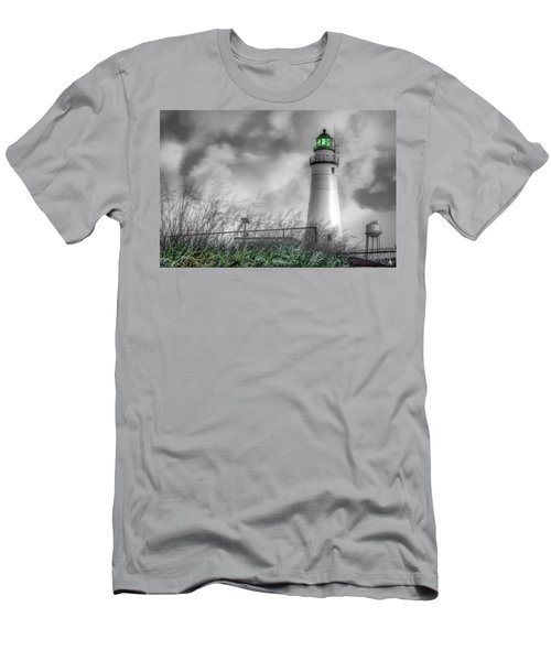 Fort Gratiot Lighthouse Men's T-Shirt (Athletic Fit)