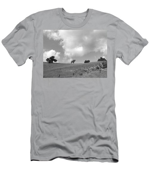 Men's T-Shirt (Slim Fit) featuring the photograph Four On The Hill by Kathleen Grace
