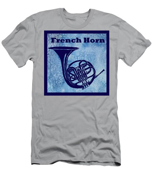 French Horn Men's T-Shirt (Athletic Fit)