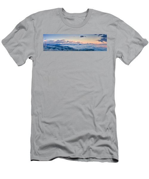 Men's T-Shirt (Athletic Fit) featuring the photograph Frosty Morning by Joye Ardyn Durham