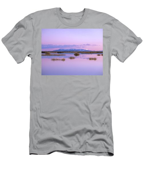 Full Moon Rising Over Sangre De Cristo Men's T-Shirt (Athletic Fit)