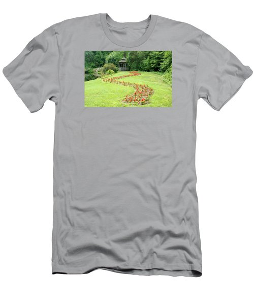 Gazebo Men's T-Shirt (Slim Fit) by Richard Bryce and Family