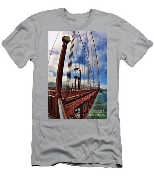 Golden Gate Bridge - 7 Men's T-Shirt (Athletic Fit)