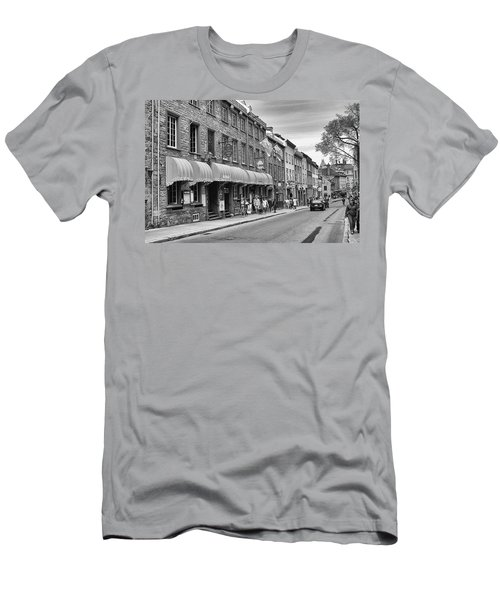Men's T-Shirt (Slim Fit) featuring the photograph Grande Allee by Eunice Gibb